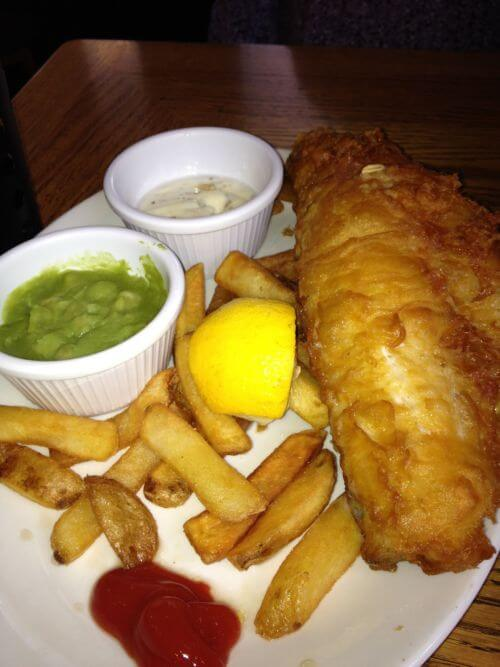 My favourite london food experiences kitchen for Fish and chips london